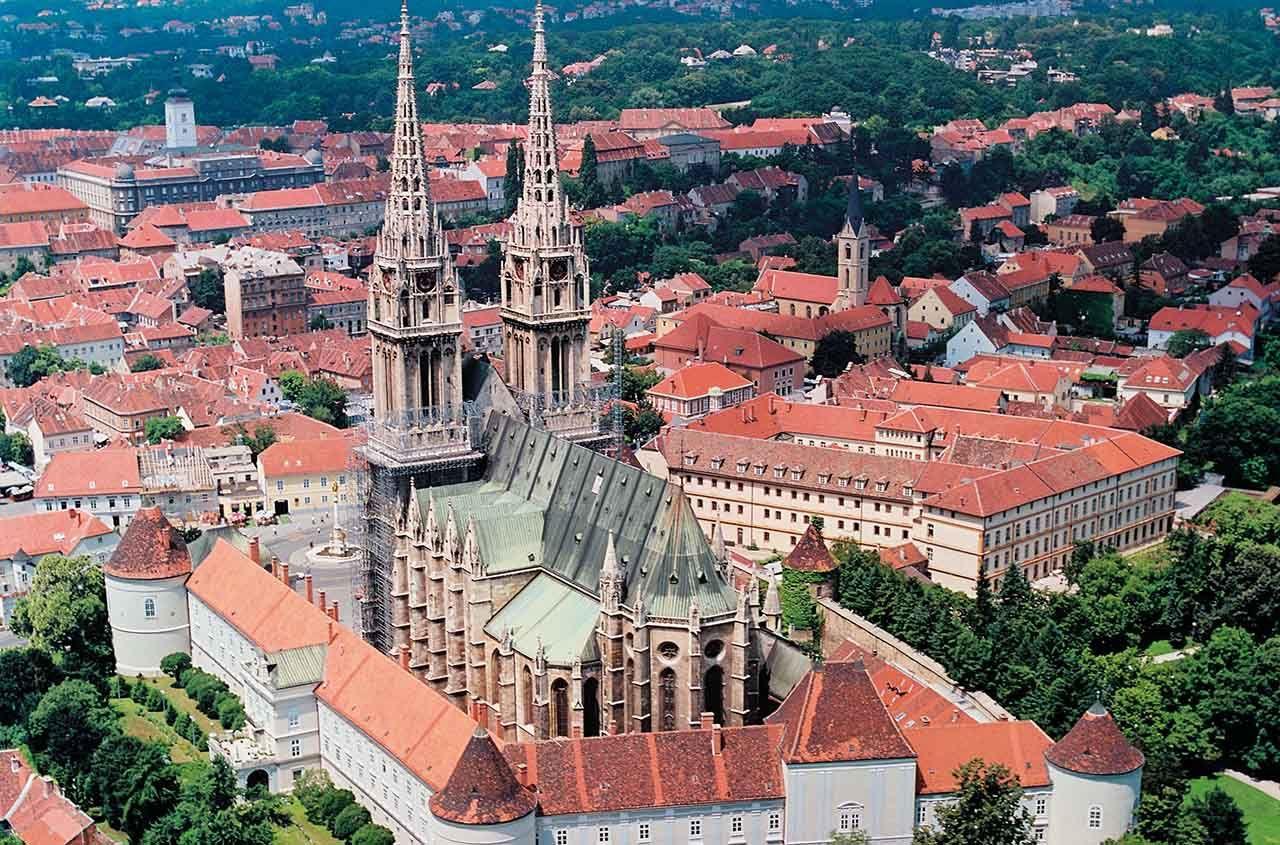 Zagreb Capital Da Croacia Zagreb Croatia Balkan Peninsula