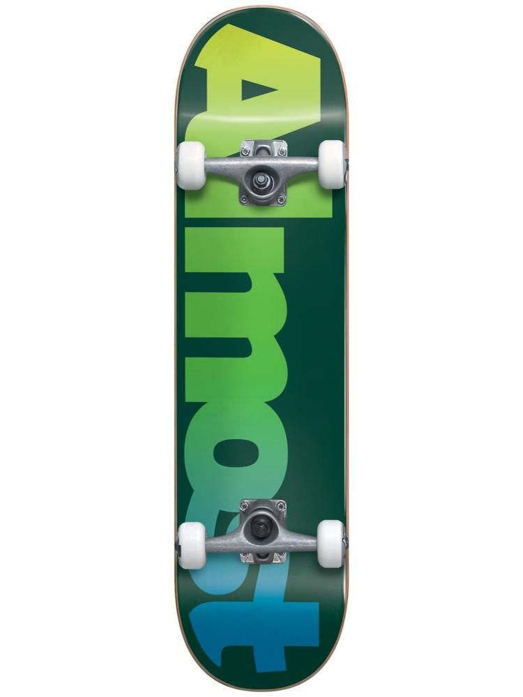 7b52d784 Almost Straight Faded 6.75 First Push Complete Skateboard MICRO ...