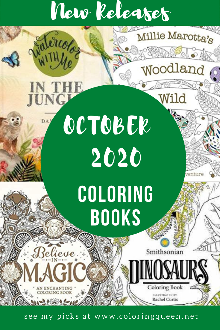 Coloring Books New Releases October 2020 Coloring Queen Coloring Books Books New Releases Books