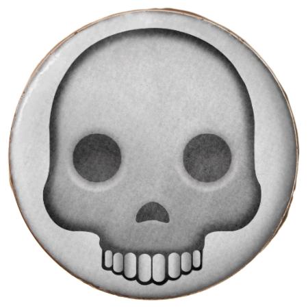 Skull Emoji Chocolate Dipped Oreo Chocolate Dipped Chocolate Emoji