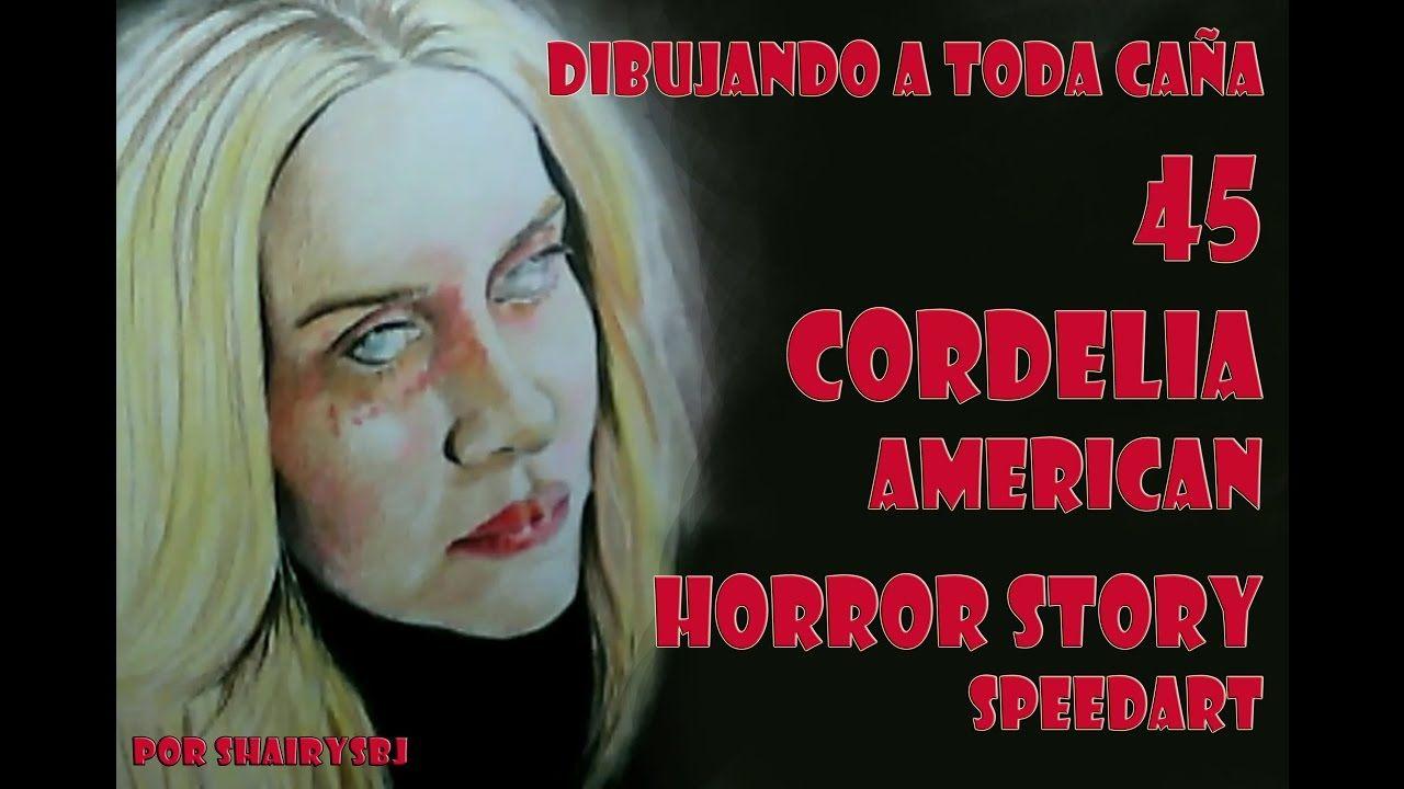 Dibujando a toda caña 45 Cordelia American Horror Story SpeedArt