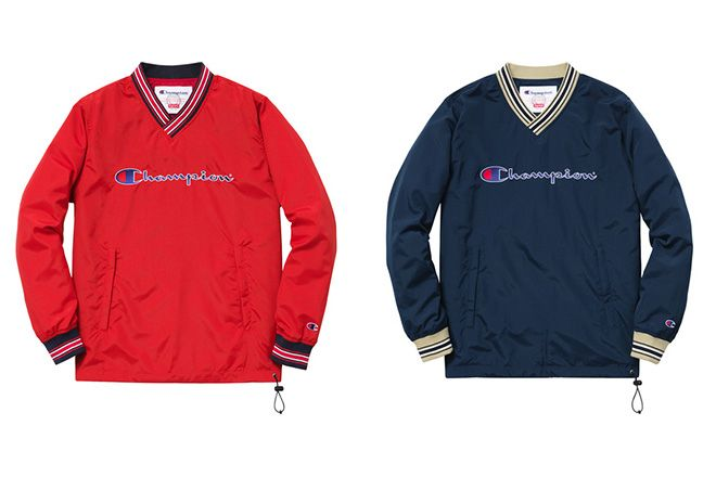 Supreme has once again worked alongside Champion to create a capsule  collection to sit alongside its larger 2015 Spring Summer range. deb407f98b92
