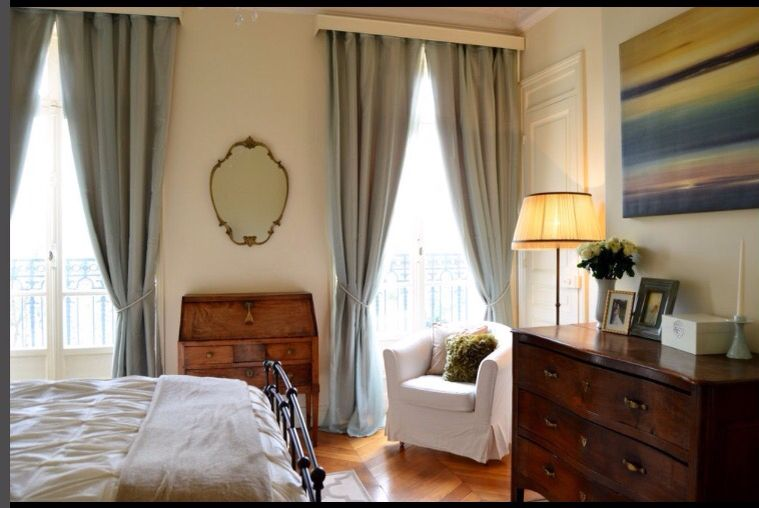 Love this French bedroom