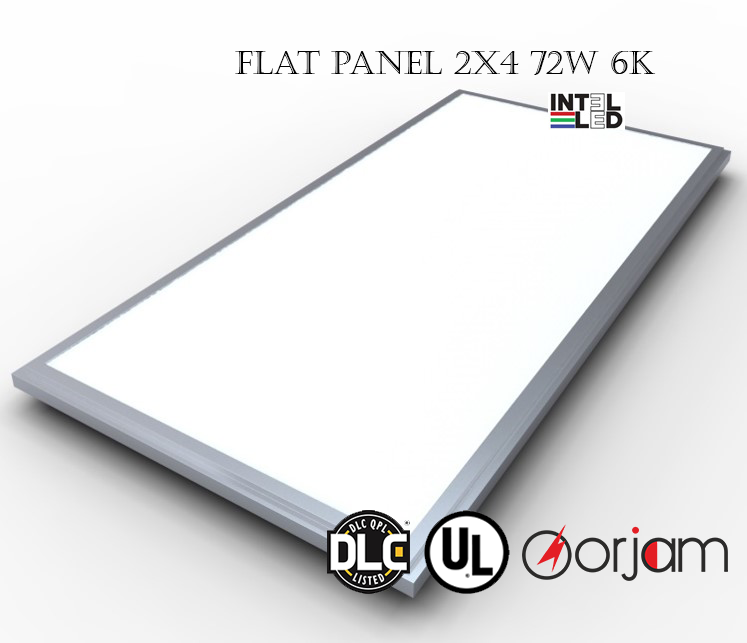 on sale e9f75 bf40d Buy 2x4 LED Flat Panel Light, Commercial Electric Flat Panel ...
