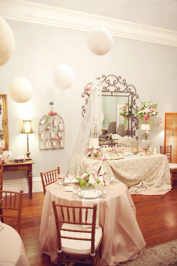 bridal shower decor.