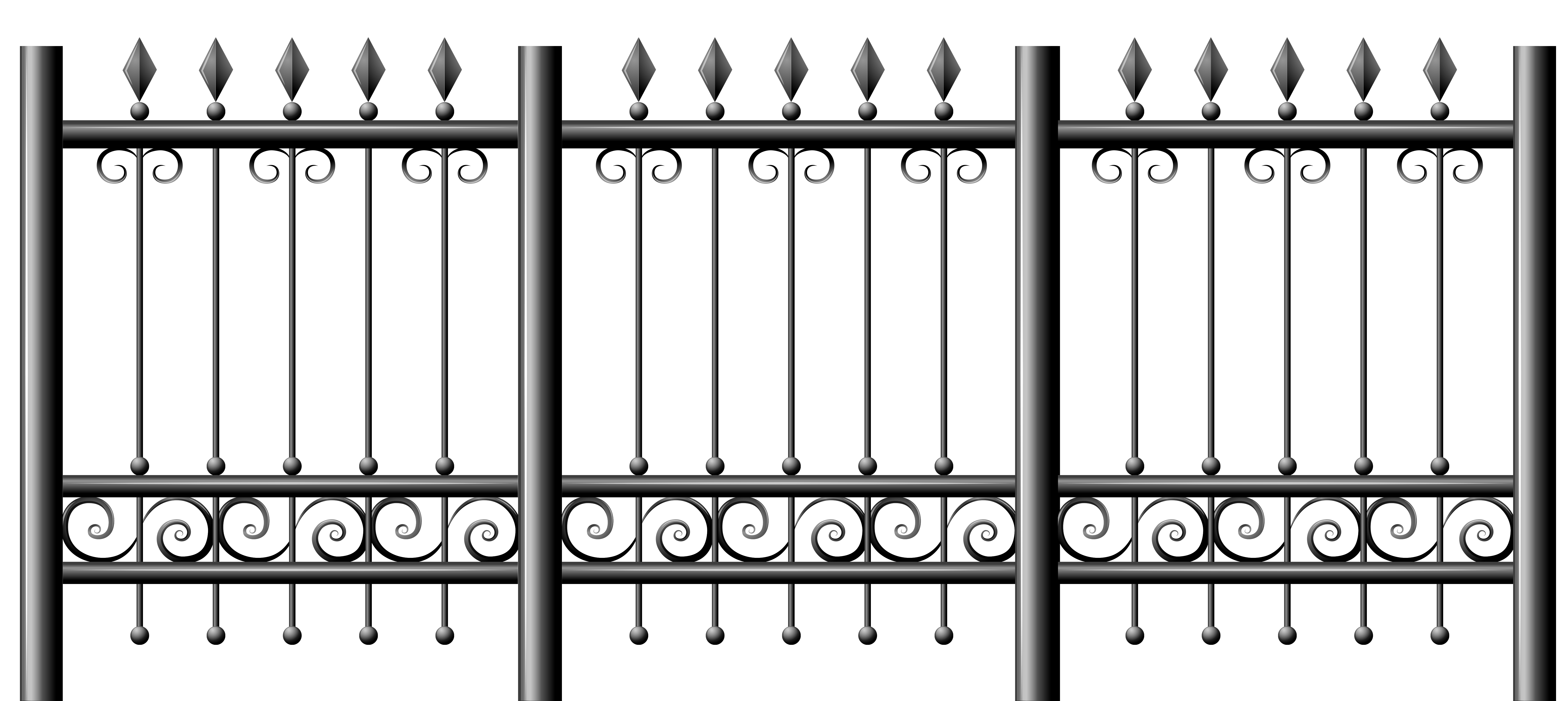 Transparent Iron Fence Png Clipart Diy Projects Small Iron Fence Small House Decorating