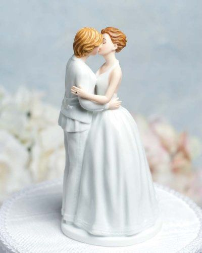 Lesbian cake toppers for gay weddings. :)