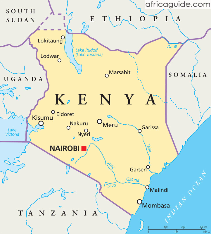 Kenya Travel Guide Kenya Word Map Kenya Travel