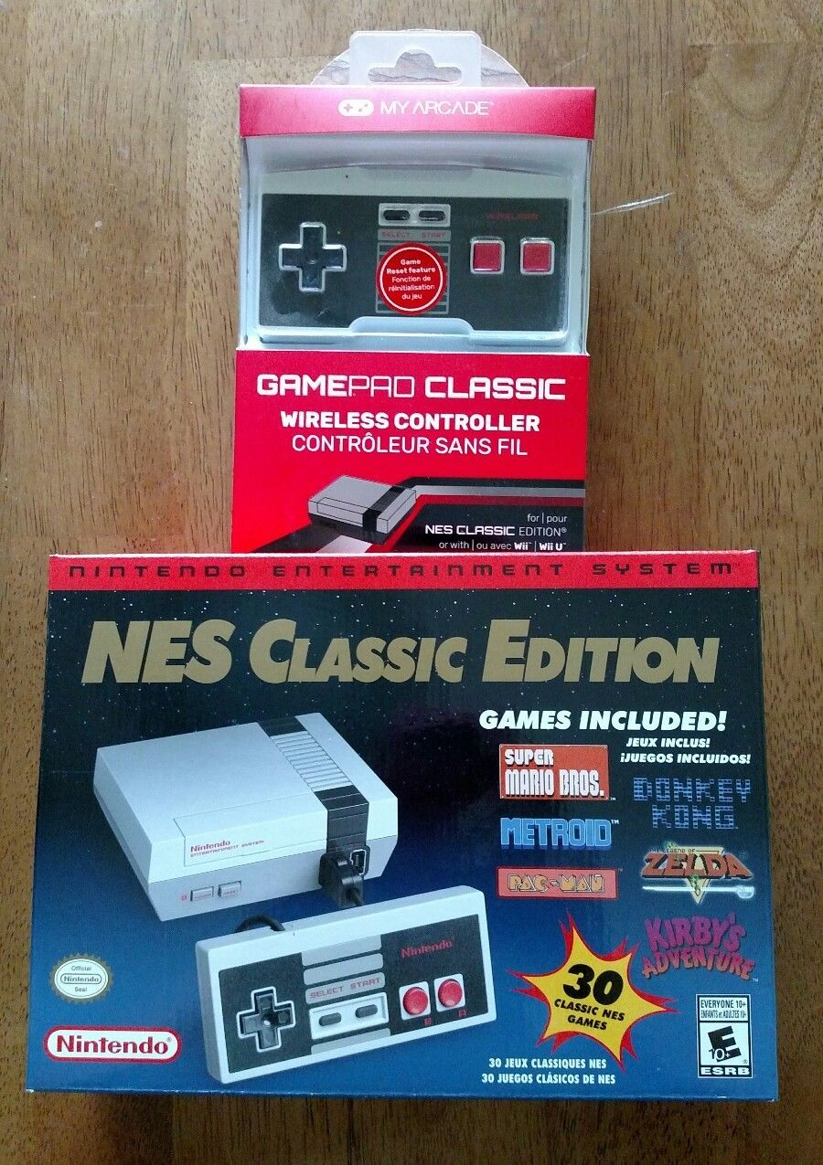 Brand New In Hand Nes Classic Edition Plus My Arcade Wireless