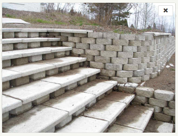 Stonehook Molds Manufactures Extremely Durable Concrete Molds For Creating Your Own Retaining Wall Large Retaining Wall Blocks Garden Wall Modern Landscaping