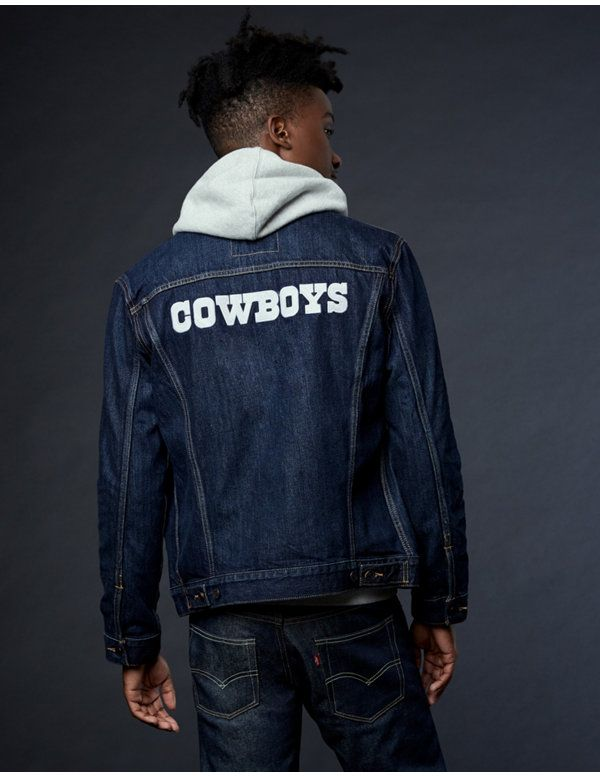 Levi sR NFL Denim Trucker Jacket  7d3bdbe68