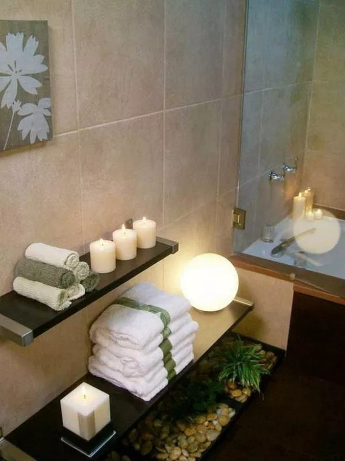 51 Beautiful Spa Bathroom Decorating Ideas 48 Spa Bathroom
