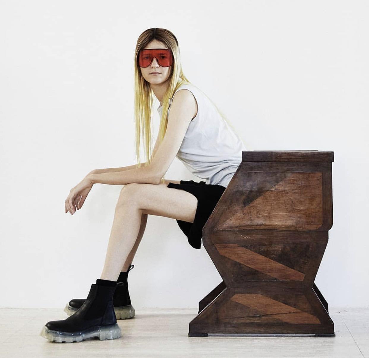 Nice girl #rickowens  from @RickOwens's closet #rickowens