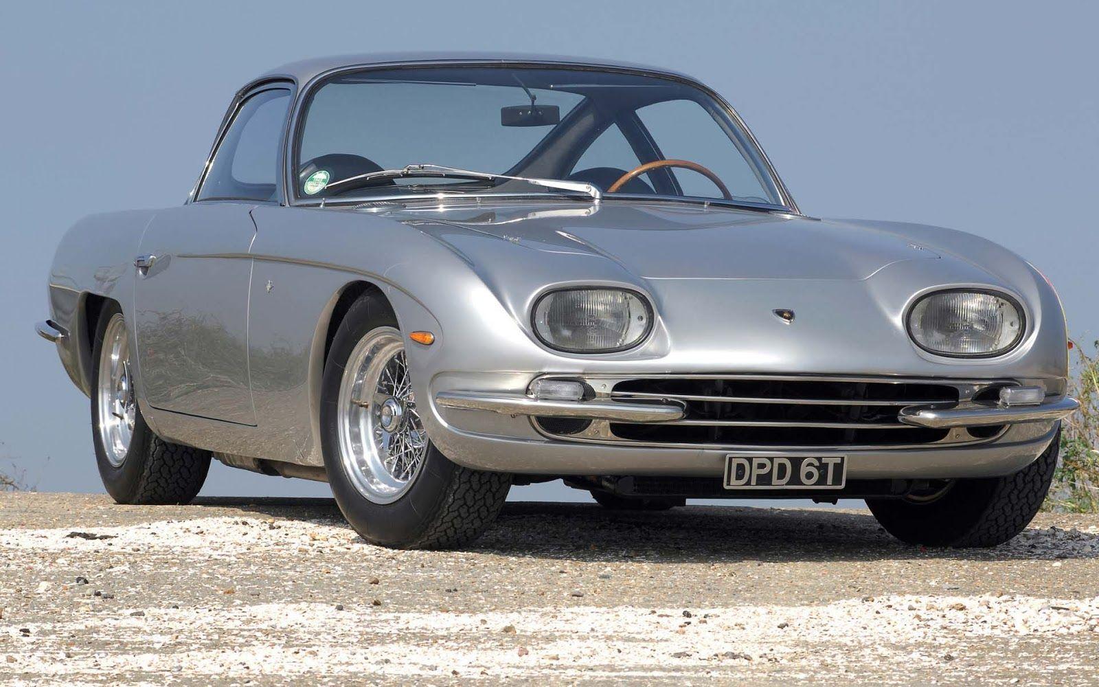 Wallpaper Mobil Classic Sport: Foto Mobil Sport Klasik 1964 Lamborghini 350 GT