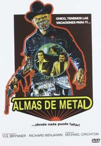 Almas de metal [Enregistrament de vídeo] / dirigida y escrita por Michael Crichton. Vilassar de Mar : Llamentol, cop. 2011
