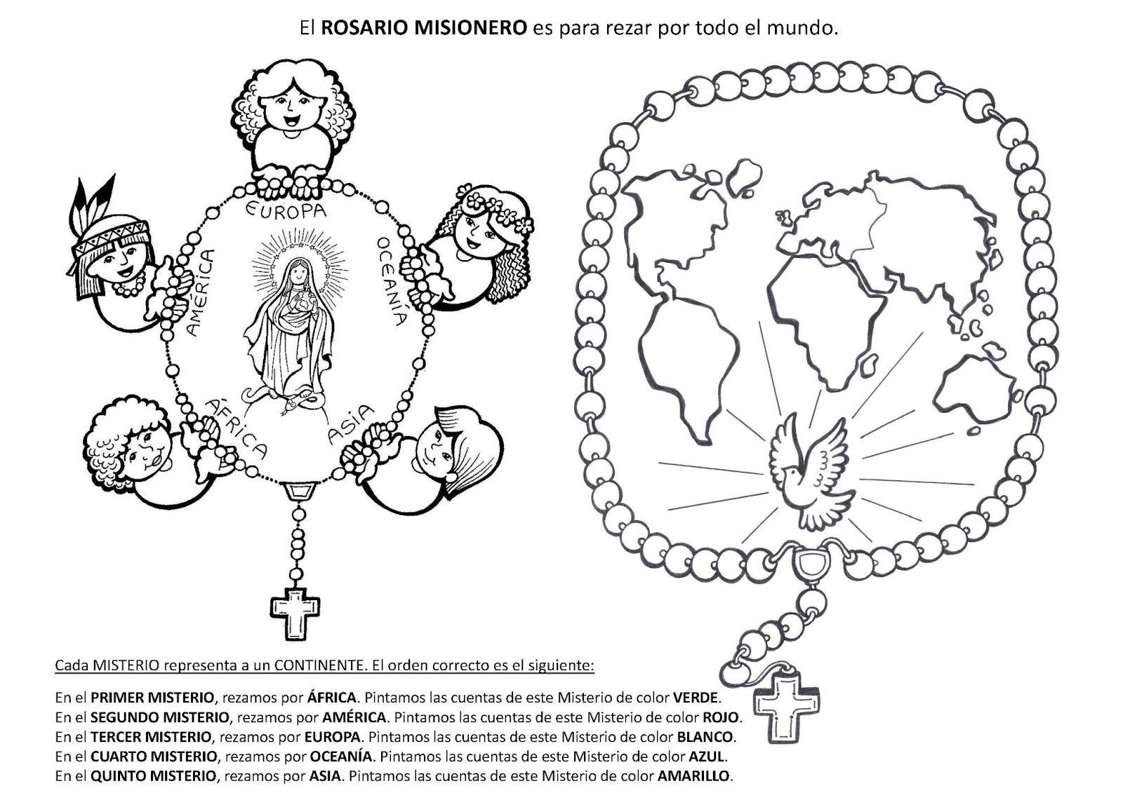 rosario misionero como se reza - Buscar con Google   imágenes ...