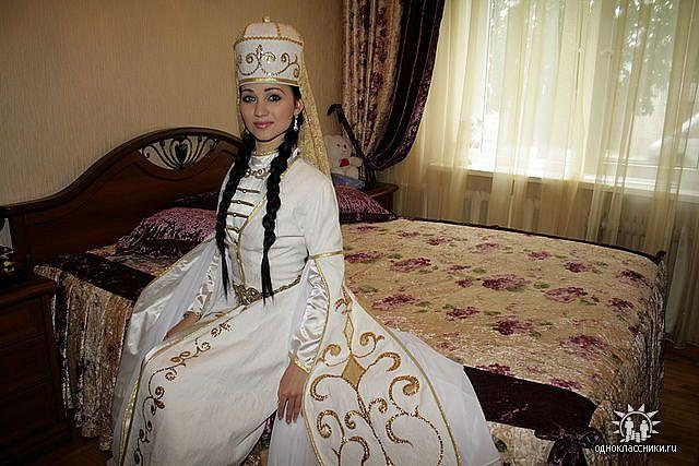 Национальные свадебные платья кавказ