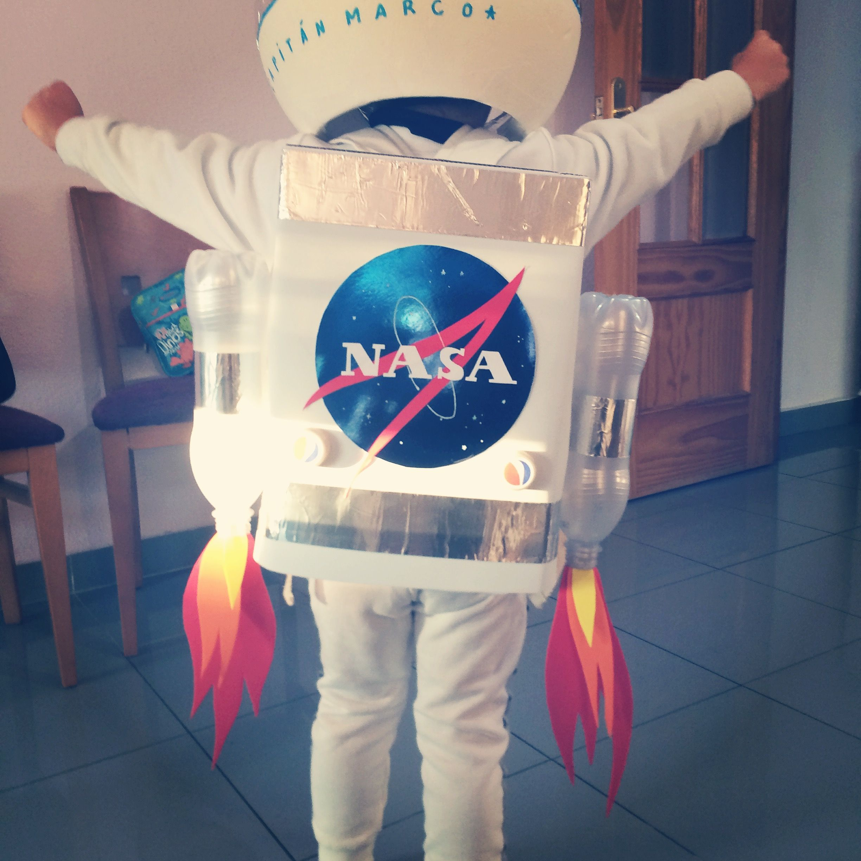 Spaceman costume kids Disfraz de astronauta para ni±os