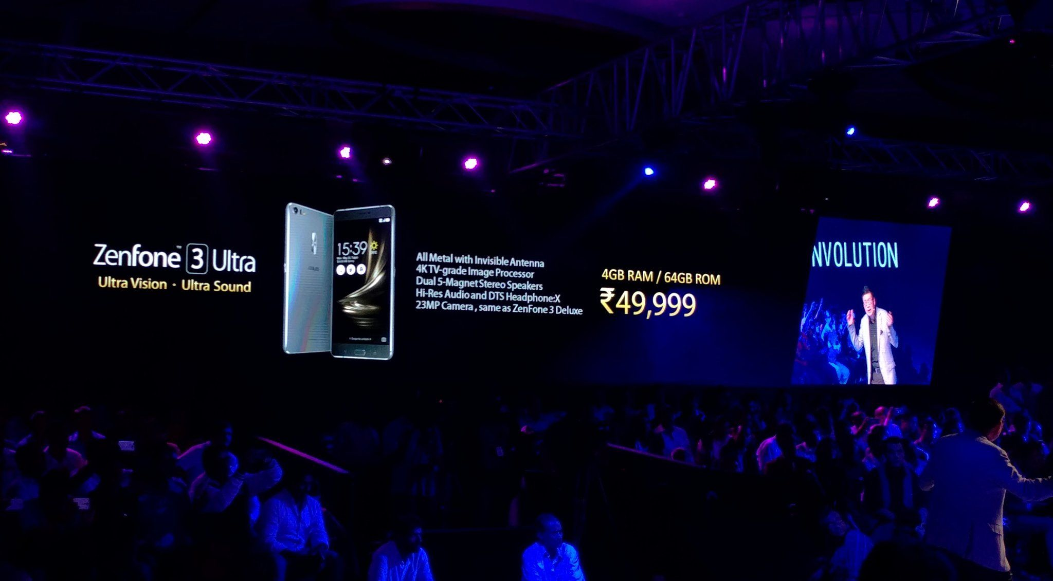 #app #mobile #ZenFone3Ultra: 6.8 inch full HD IPS display SD 652 4GB RAM 23MP camera. Price Rs 49999 http://pic.twitter.com/IdrcG6rPF6   App Mobile 4u (@M0bileappDev) August 17 2016