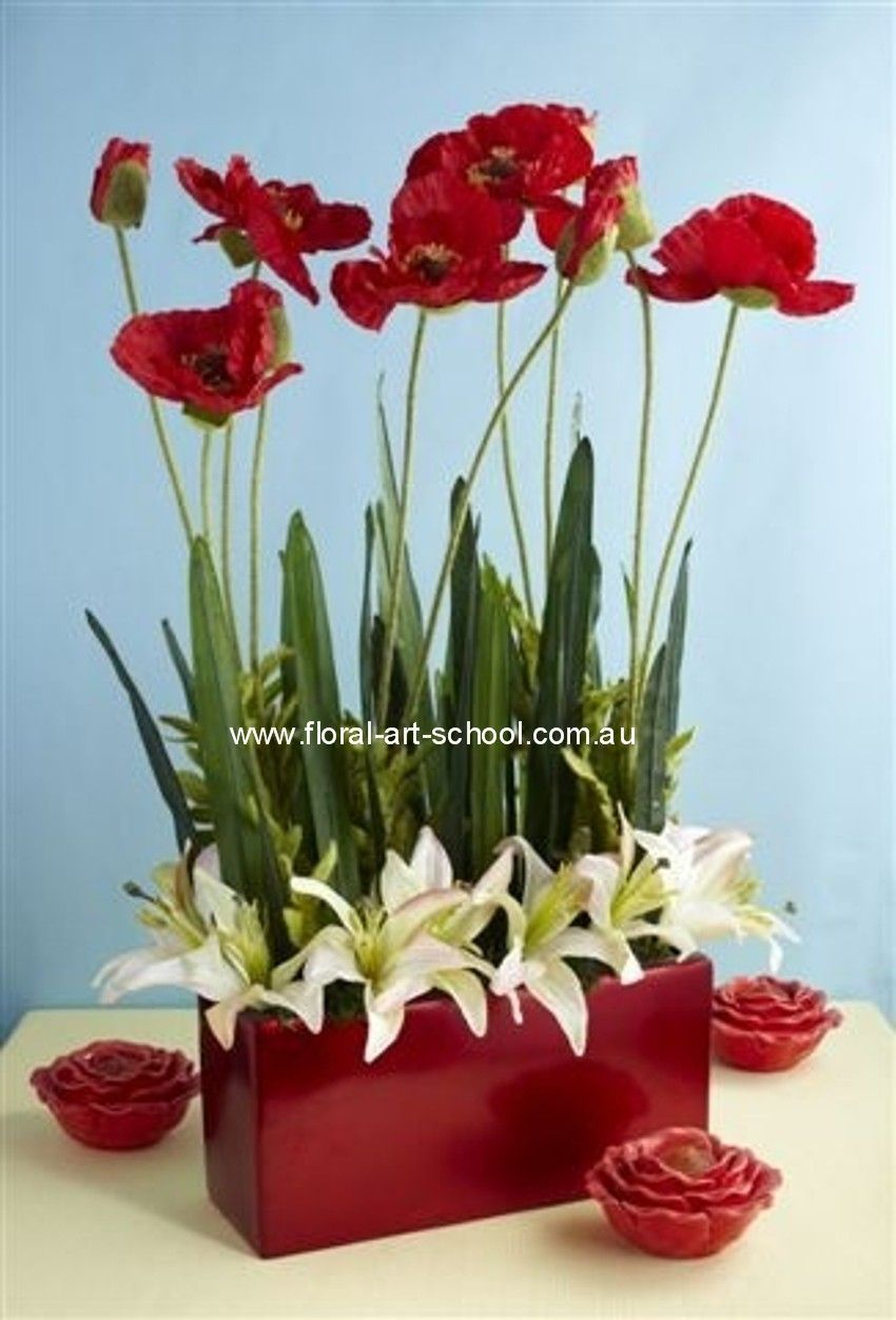 Modern Silk Flower Arrangement Animals Pinterest Flower