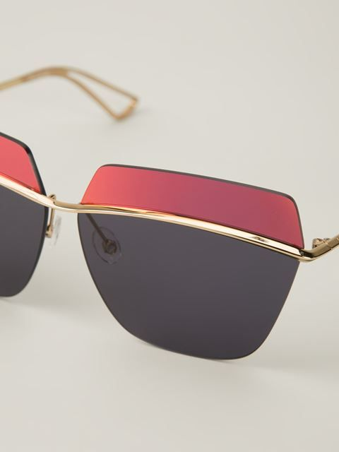 e9ec9d711ce Dior Two-tone Sunglasses - The Webster - Farfetch.com