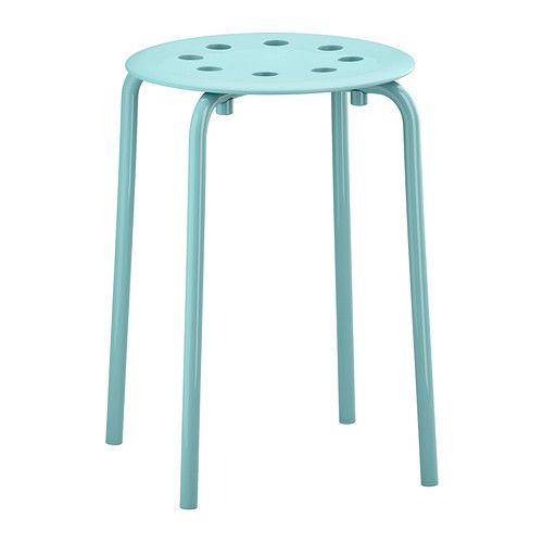 MARIUS Taburete - turquesa claro - IKEA, 4,5€