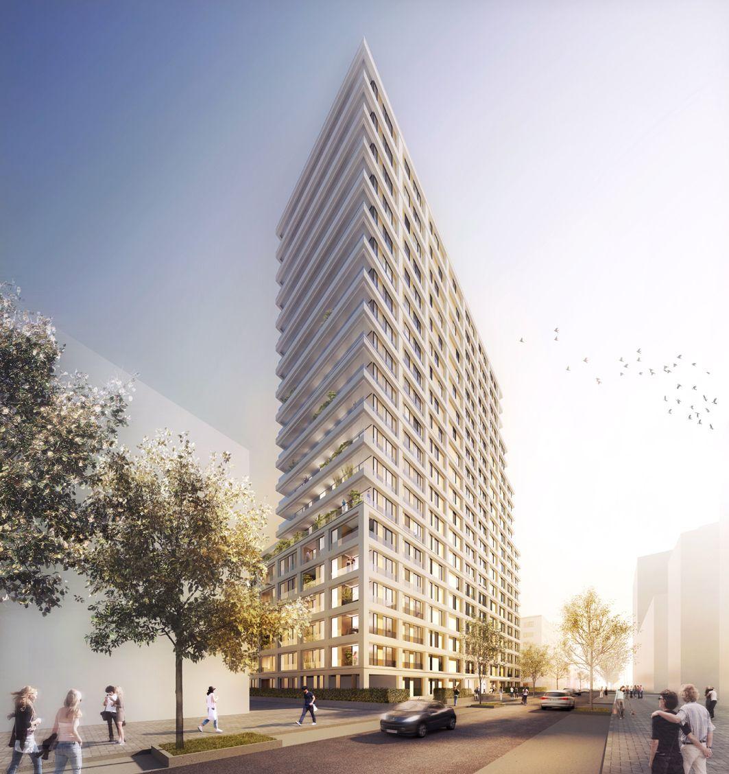 Architekten Frankfurt das letzte hochhaus wettbewerb in frankfurt entschieden