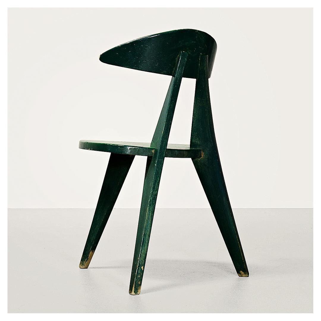 Three Legged Dreibeiner Chair 1955 Walter Pabst Manufactured