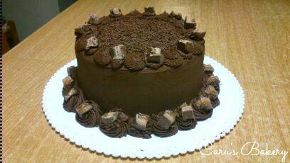torta cioccolato e caramello