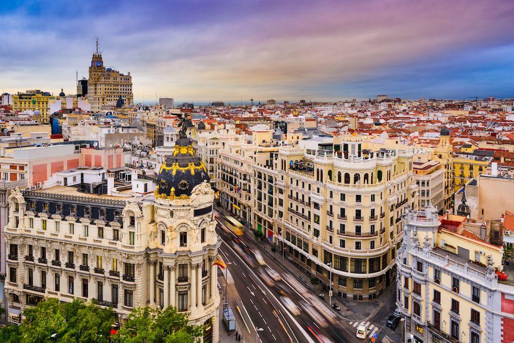 48 Hours In Madrid 2 Day Itinerary Madrid Travel Madrid Skyline Madrid Spain