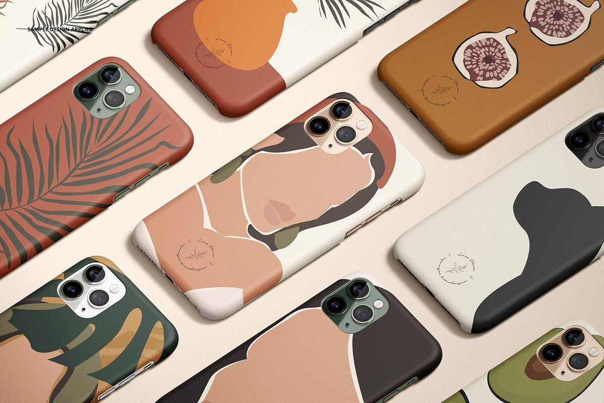 Download Iphone 11 Pro Matte Snap Case Mockup Iphone 11 Case Illustration Phone Case