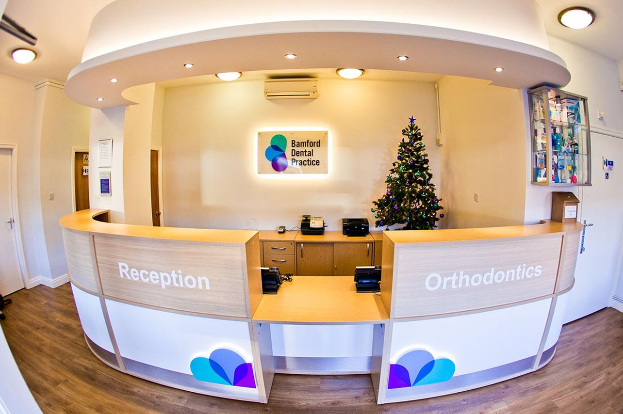 Recently Completed Reception Desk