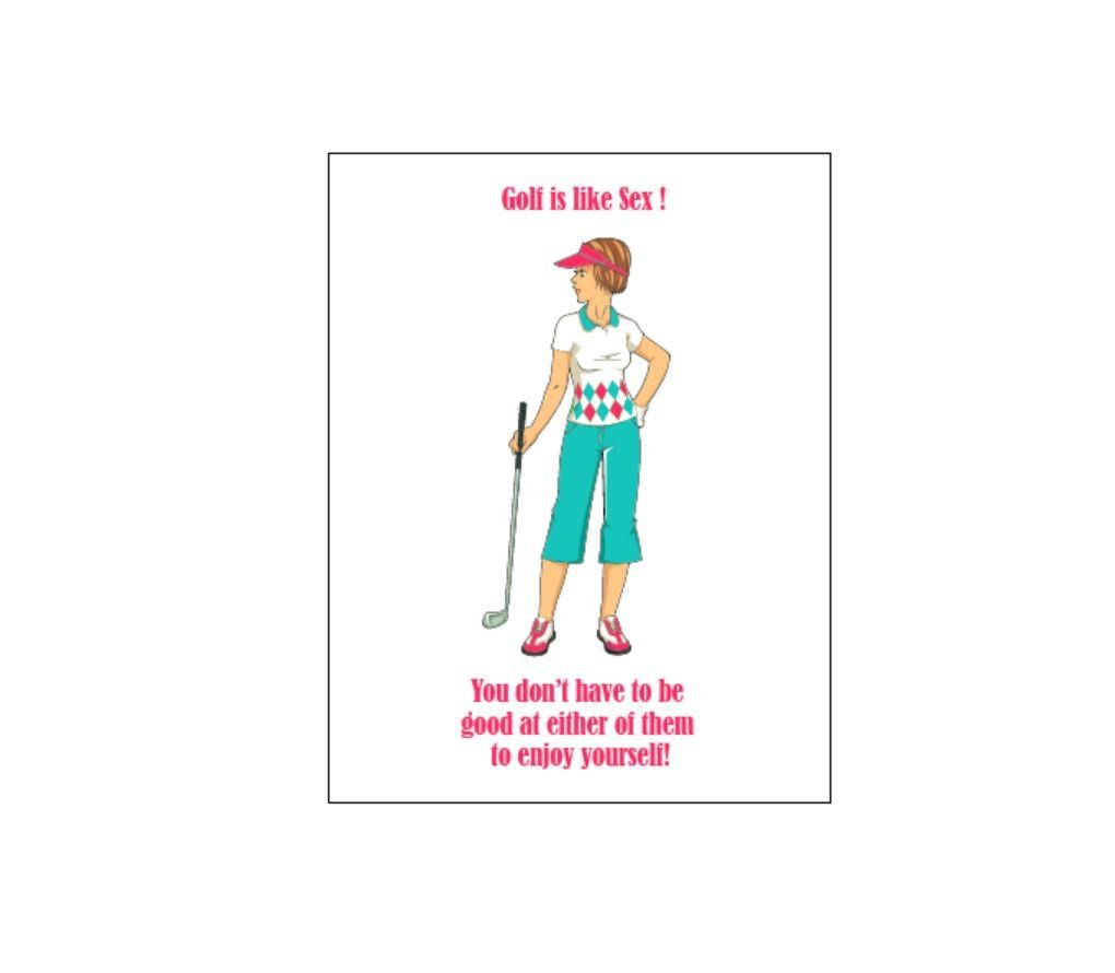 Ladies Golf Funny Women Golfer Thank You Notes Blank Note Card Set Golf Theme Ladies Unique Set Of 10 You Could Dis Notecard Set Blank Note Cards Card Set