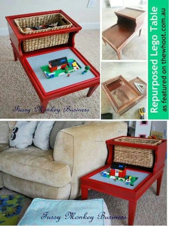 Pin By Annette Judith On Diy Craft Tables With Storage Lego Table Lego Table Diy