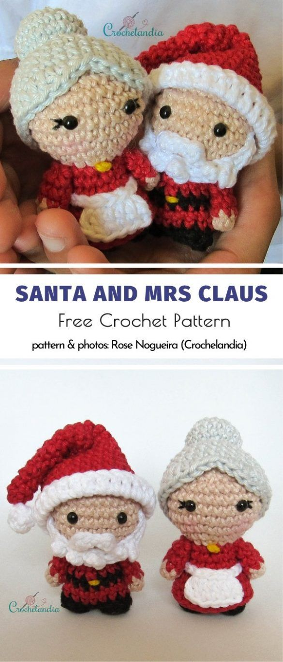 Cute Amigurumi For Christmas #dollhats