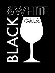 Black & White Gala Logo