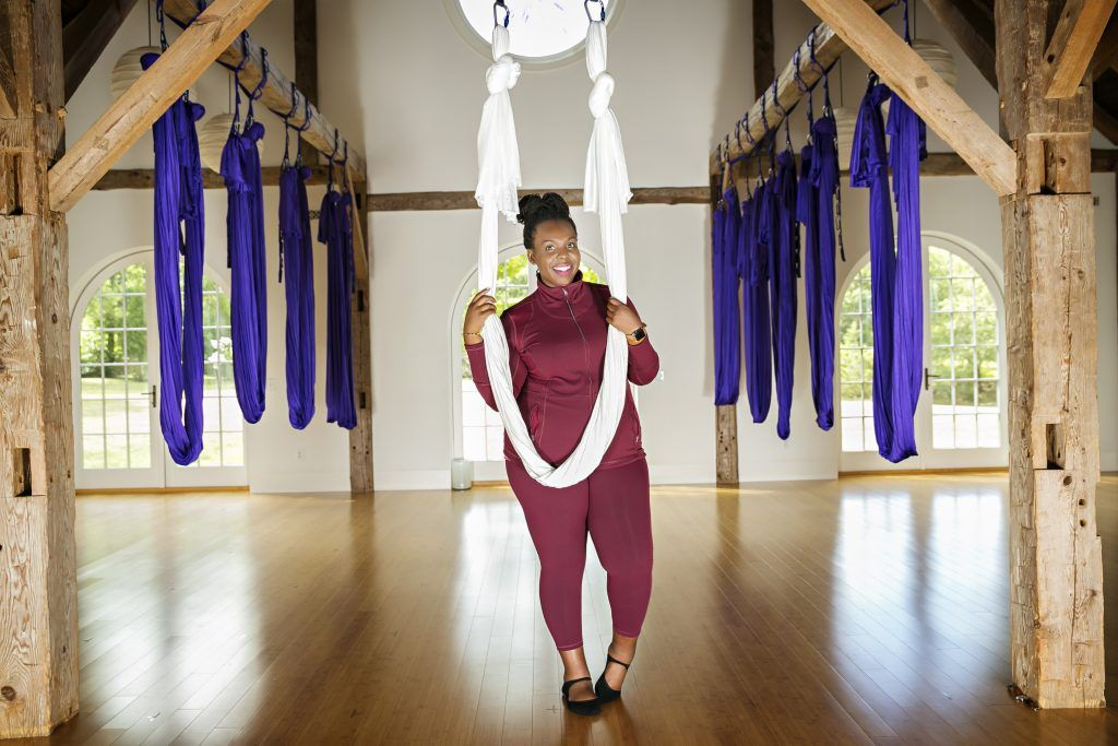 Photo of Body Positive Workout: Aerial Yoga – CeCe Olisa