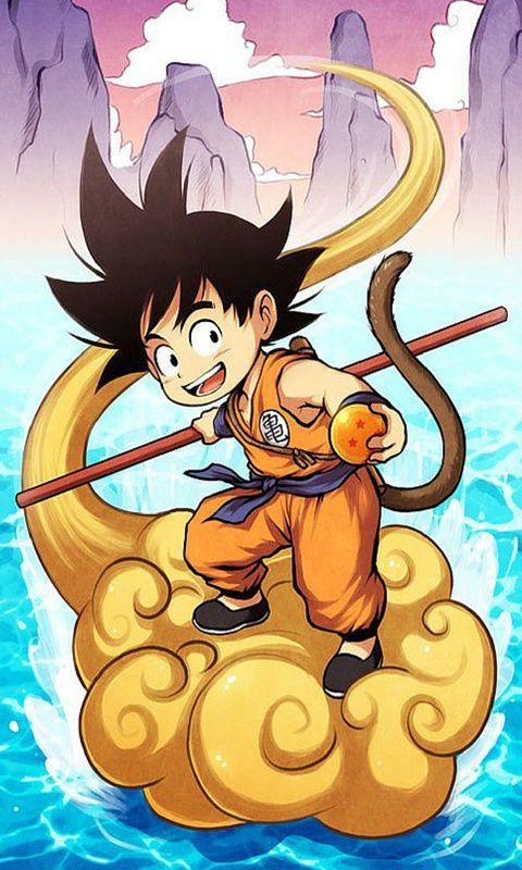 Young Goku Wallpaper}