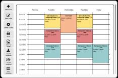 free online schedule builder