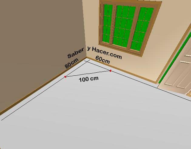 Como escuadrar superficies - Saber y Hacer | Como escuadrar ...