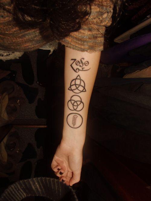 Pin By Paige Blaka On Feling Led Zepplin Tattoo Led Zeppelin Tattoo Trendy Tattoos