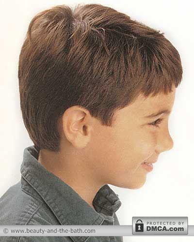 Boys Short Easy Haircut Back View Kids Pinterest Short Hair
