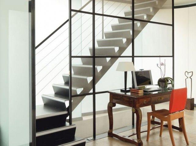 Escalier Contemporain En Metal   Escalier   Pinterest   Escaliers