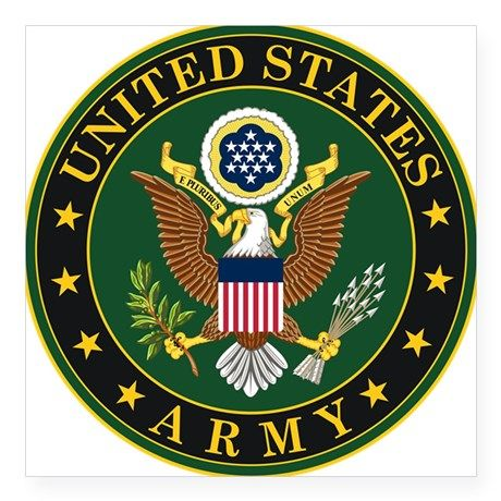 Us Army Symbol Sticker Projects To Try Pinterest Army
