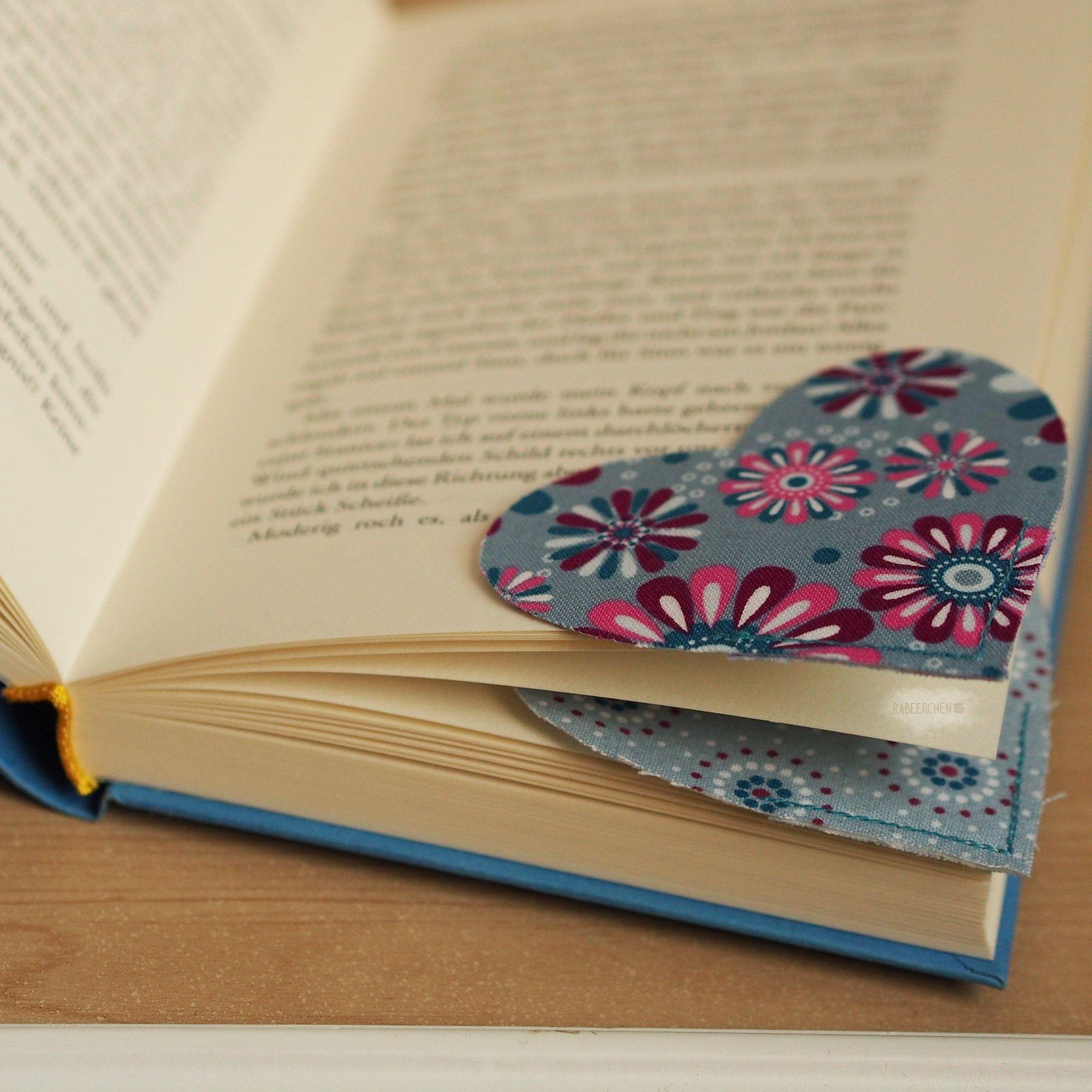 Lesezeichen nähen ★ kleine Geschenkidee – Lesezeichen
