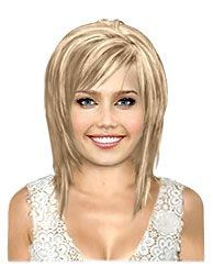Photo of Same Haircut Different Hair Color for Medium Concave Bobs
