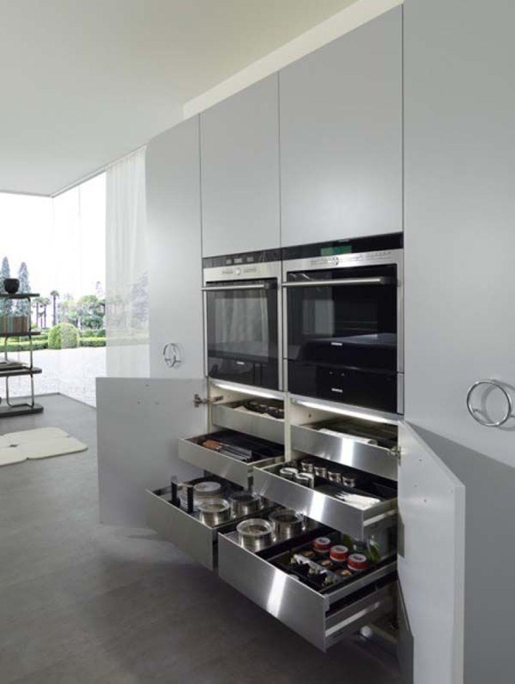 46 Most Popular Modern Kitchen Design Ideas #kitchenfurniture