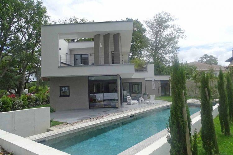 vente maison contemporaine bioclimatique 5 pieces 200 m2 biarritz - Maison Moderne Biarritz