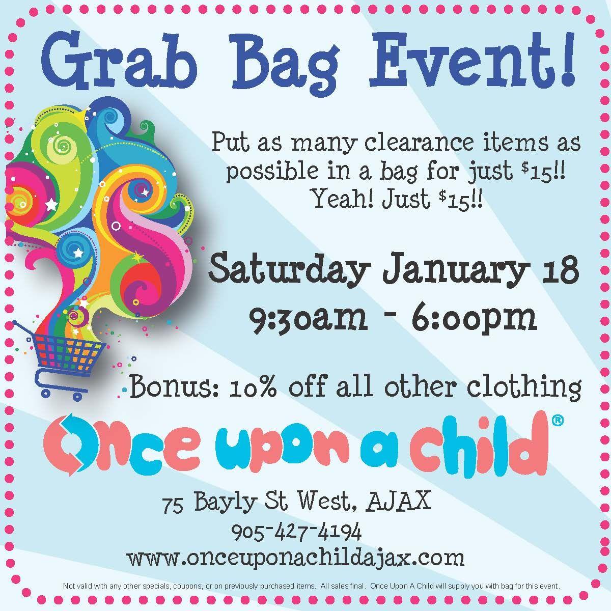 Grab Bag Event Saay Jan