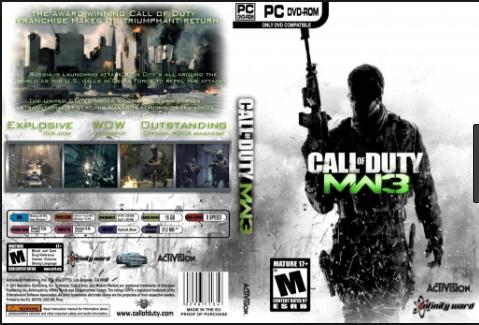 تحميل لعبه Call Of Duty Modern Warfare 3 للكمبيوتر كامله